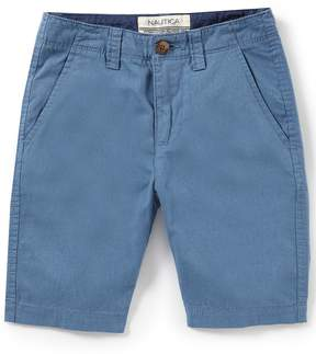 Nautica Little Boys 4-7 Modesto Flat Front Shorts