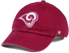 '47 Los Angeles Rams Cardinal Clean Up Cap