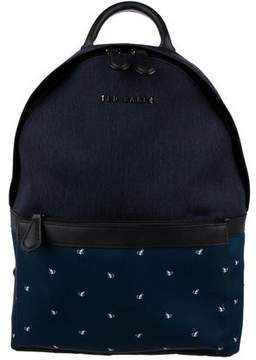 Ted Baker Graphic Canvas Backpack w/ Tags