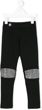 Philipp Plein Junior embellished leggings