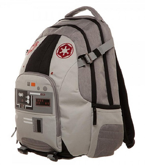 Gray & Red AT-AT Backpack