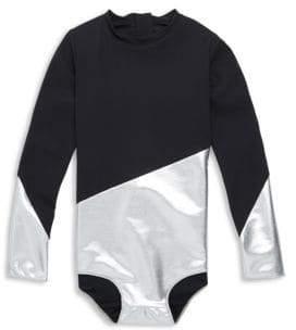 Nununu Toddler's, Little Girl's & Girl's Two-Tone Swimsuit