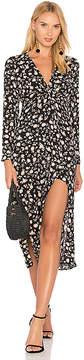 Bardot Floral Split Dress
