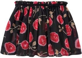 Kate Spade Metallic Chiffon Skirt