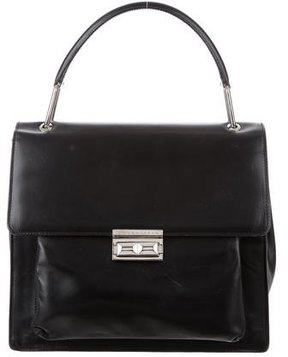 Donna Karan Leather Handle Bag