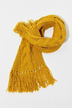 Urban Outfitters Cable Knit Extra-Long Scarf