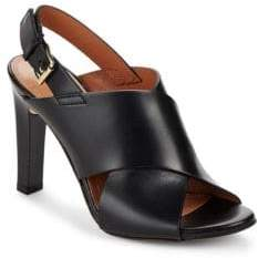 BCBGMAXAZRIA Pascal Leather Heels