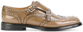 Church's double monk strap shoes with studs