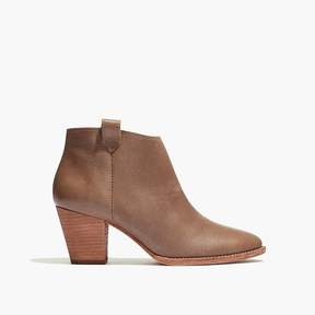 Madewell The Billie Boot in Leather