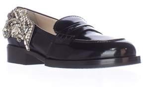 No.21 8609 Slip-on Loafers, Black.