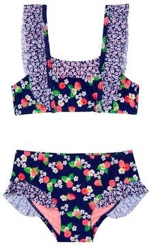 Hula Star Toddler Girl's Sweet Raspberriestwo-Piece Swimsuit