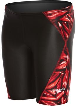 Speedo Boys' Pro LT Fractal Bloom Jammer Swimsuit 8149566