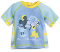 Disney Mickey Mouse Rash Guard for Baby
