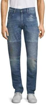 PRPS Whiskered Skinny Fit Jeans