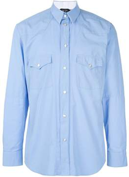 No.21 chest pocket shirt