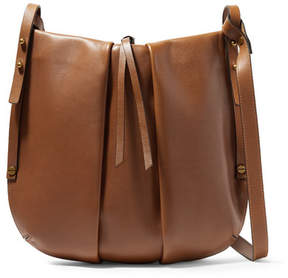 Isabel Marant Lecky Leather Shoulder Bag - Tan