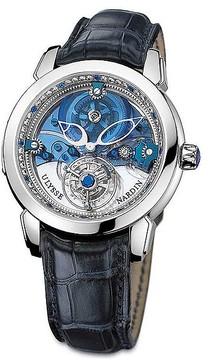 Ulysse Nardin Royal Blue Tourbillon Limited Edition Platinum Men's Watch