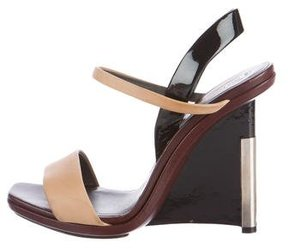 Reed Krakoff Leather Wedge Sandals