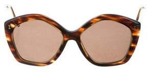 Illesteva Tortoiseshell Oversize Sunglasses