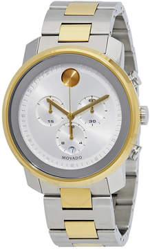 Movado Bold Chronograph Silver Dial Men's Watch