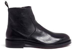 Antonio Maurizi Leather ankle boots