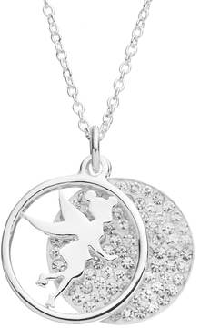 Disney Disney's Tinker Bell Crystal I Do Believe in Fairies Layered Disc Pendant