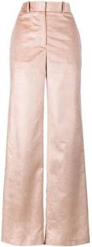 ADAM by Adam Lippes wide leg corduroy silk trousers