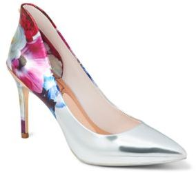 Ted Baker Savei Floral Printed Pumps
