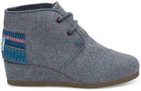 Toms Kids' Sparkle Chambray Bootie