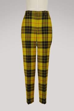 Balenciaga Tartan pants