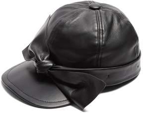 Federica Moretti Liu 6 leather cap