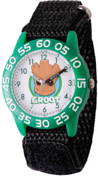 Marvel Guardian Of The Galaxy Boys Black Strap Watch-Wma000138