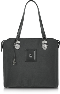 Piero Guidi Linea Bold - Black Canvas Tote