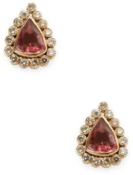 Amrapali Women's Diamond and Tourmaline Studs