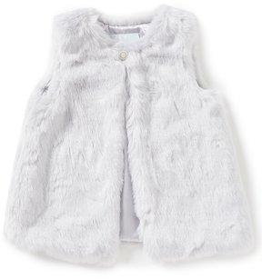 Edgehill Collection Little Girls 2T-6X Faux-Fur Vest