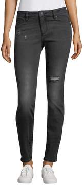 Armani Exchange Women's Distressed Skinny Jeans