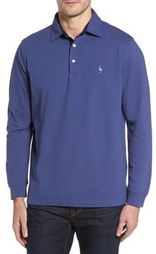 Tailorbyrd Men's Two-Tone Pique Knit Polo