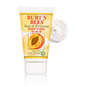 Burt's Bees Peach and Willowbark Deep Pore Scrub