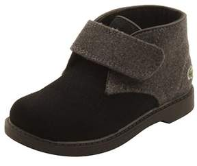 Lacoste Infant Sherbrook 416 Boots In Black/dark Grey.