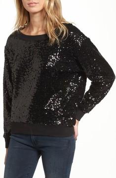 Ella Moss Women's Sequin Sweatshirt