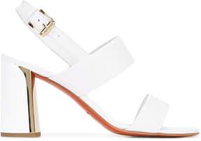 Baldinini buckled sling-back sandals