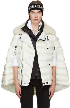 Moncler Off-White Orcleres Cape