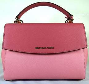MICHAEL Michael Kors Ava Colorblock Mistyrose Small Top Handle Satchel Bag - ONE COLOR - STYLE