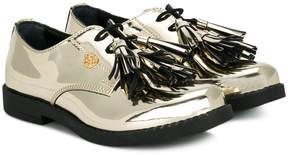 Miss Blumarine fringed tassel loafers