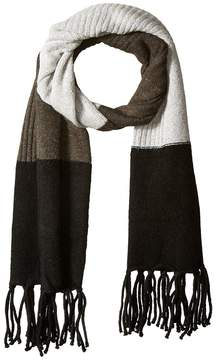 Vince Camuto Color Block Knit Scarf Scarves