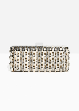 Two Tone Metal Clutch