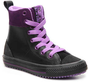Converse Chuck Taylor All Star Asphalt Toddler & Youth High-Top Sneaker - Girl's