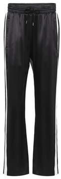 Burberry Silk satin trackpants