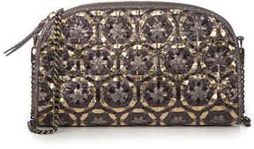 Eric Javits Gilda Woven Embellished Shoulder Bag
