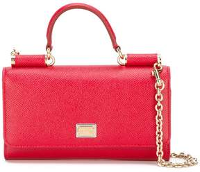 Dolce & Gabbana mini 'Von' shoulder bag - RED - STYLE